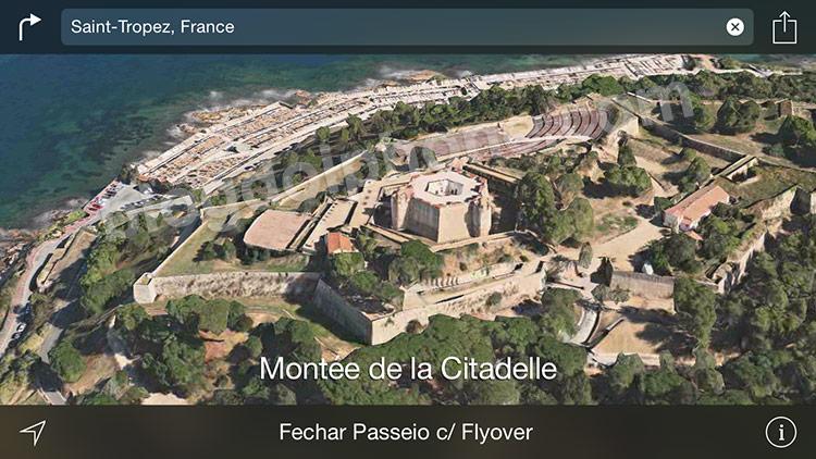 Flyover em Saint-Tropez