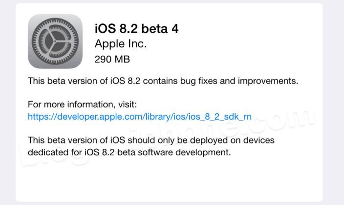 iOS 8.2 beta 3