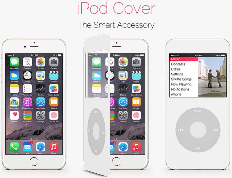 Photo of Conceito de capa que transforma o iPhone 6 em um iPod Classic