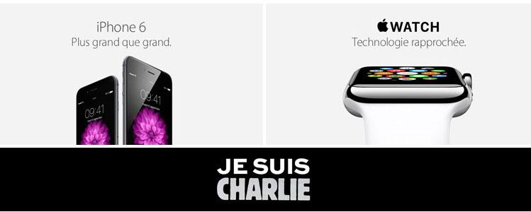 Apple se solidariza com as vítimas do atentado em Paris em sua página francesa