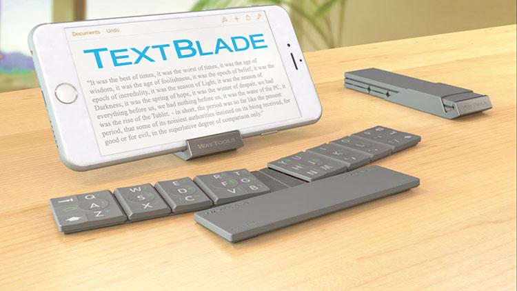 Um incrível teclado portátil para dispositivos móveis que parece ficção, mas é real