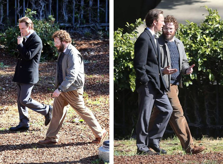 Michael Fassbender e Seth Rogen
