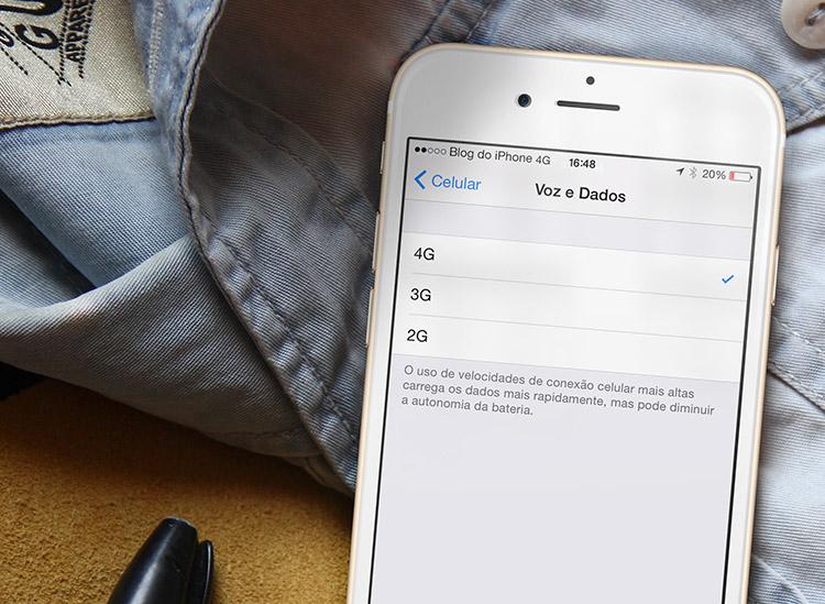 Opção para desligar rede 3G/4G aparece no beta do iOS 8.3