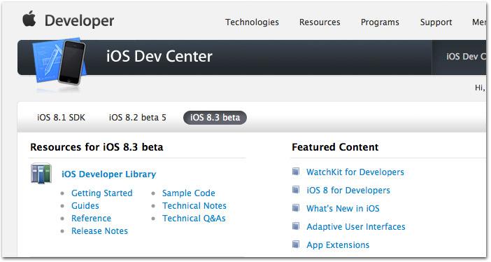 Apple surpreende e libera beta do iOS 8.3 para desenvolvedores