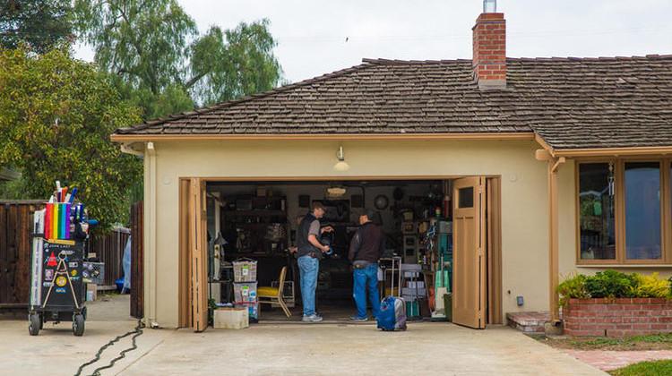 Gravação na garagem da família de Jobs