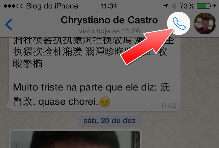 WhatsApp se atualiza, com botão de ligações. Mas...