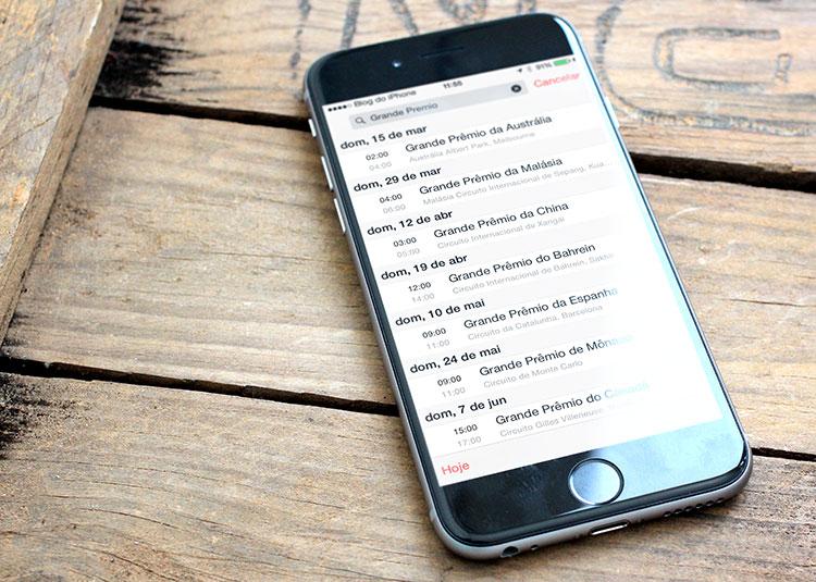 Photo of Assine nosso calendário automático do Campeonato de Fórmula 1, para iPhone, iPad e Mac