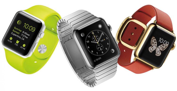 Opções Apple Watch