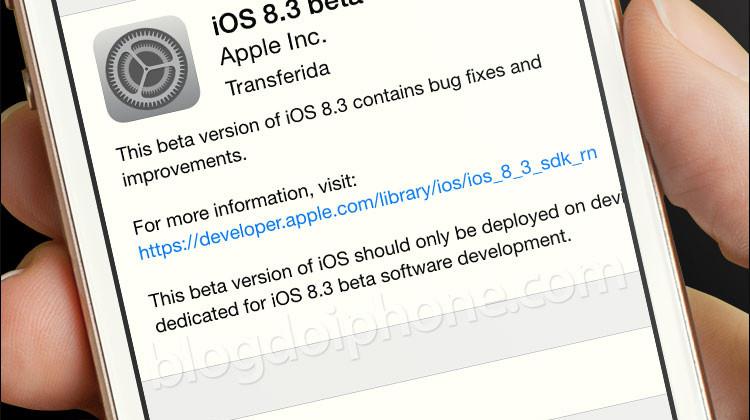 iOS 8.3 beta 4