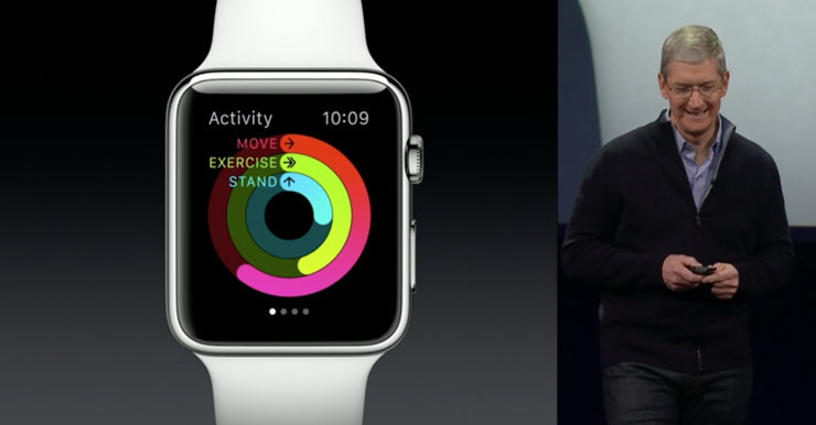 Tim Cook apresenta o Apple Watch