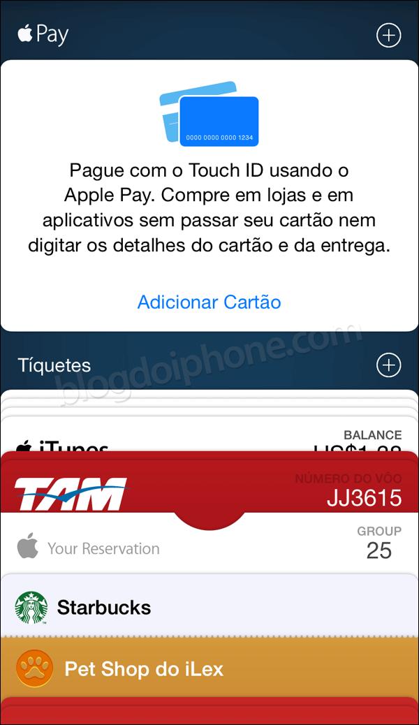 iOS 8.3 Passbook