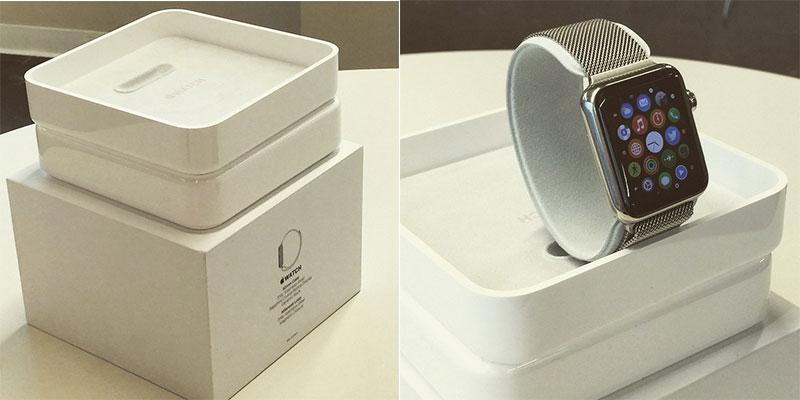 Photo of Foto revela como será a caixa do Apple Watch