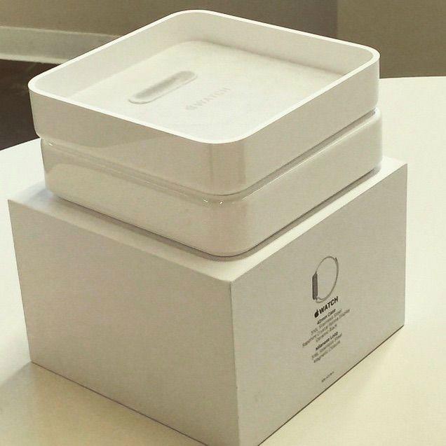 Embalagem Apple Watch (box)