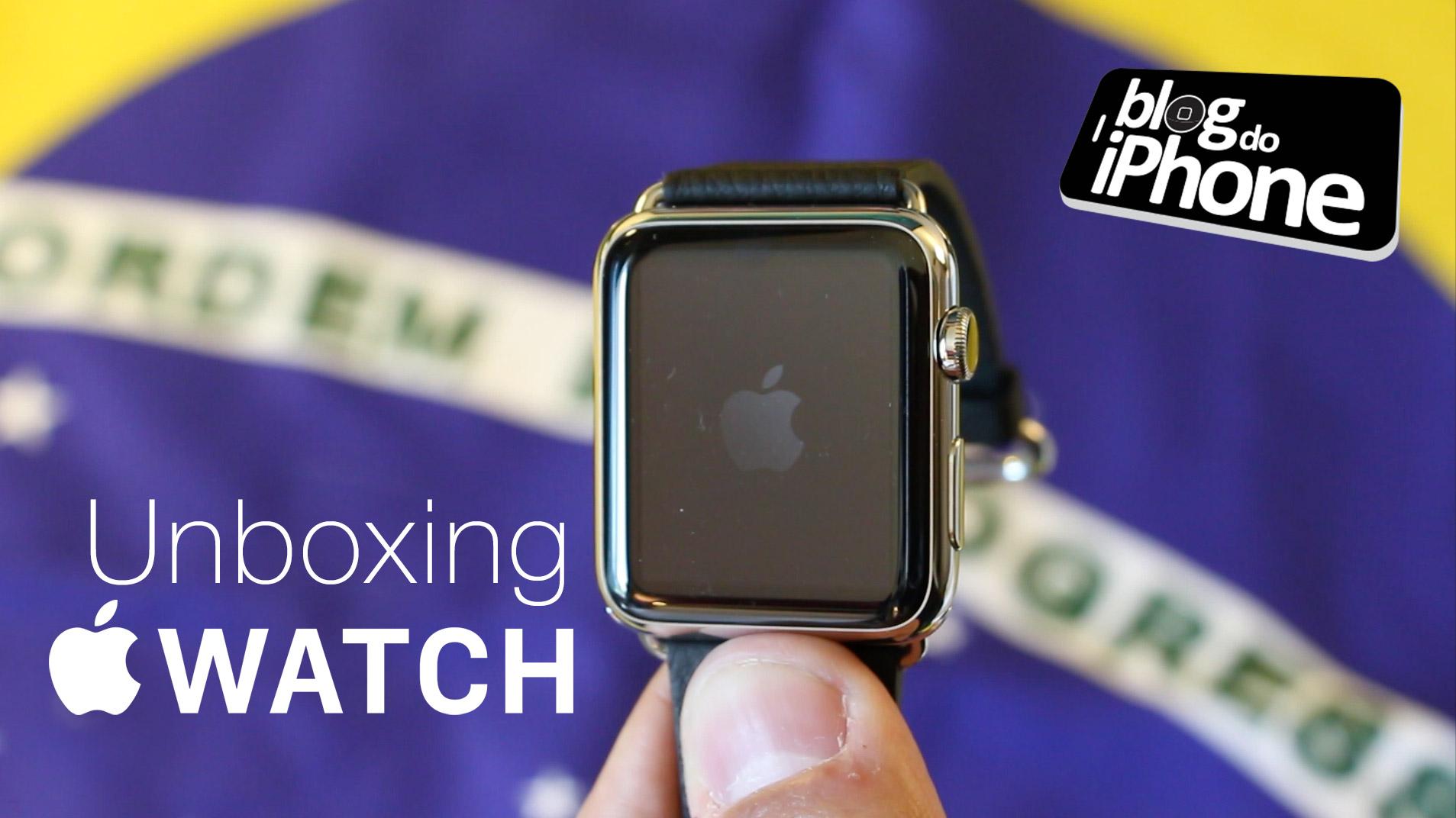 Photo of Confira nossos unboxings do Apple Watch e Watch Sport