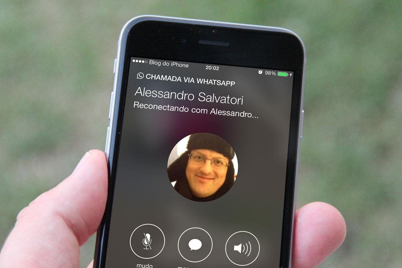 Como fazer ligações de voz pelo WhatsApp no iPhone