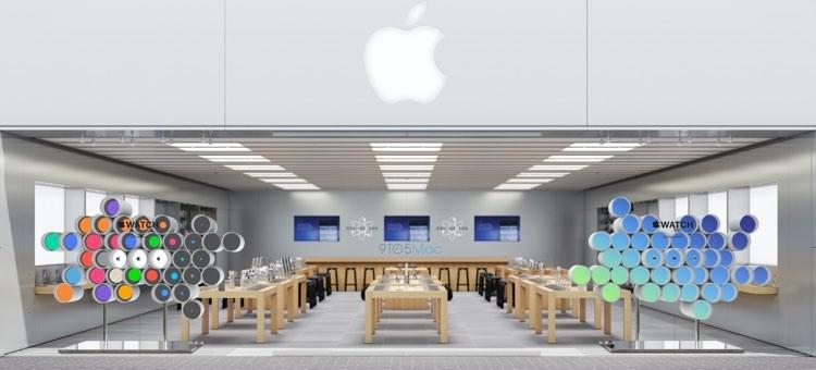 Vitrine Apple Store