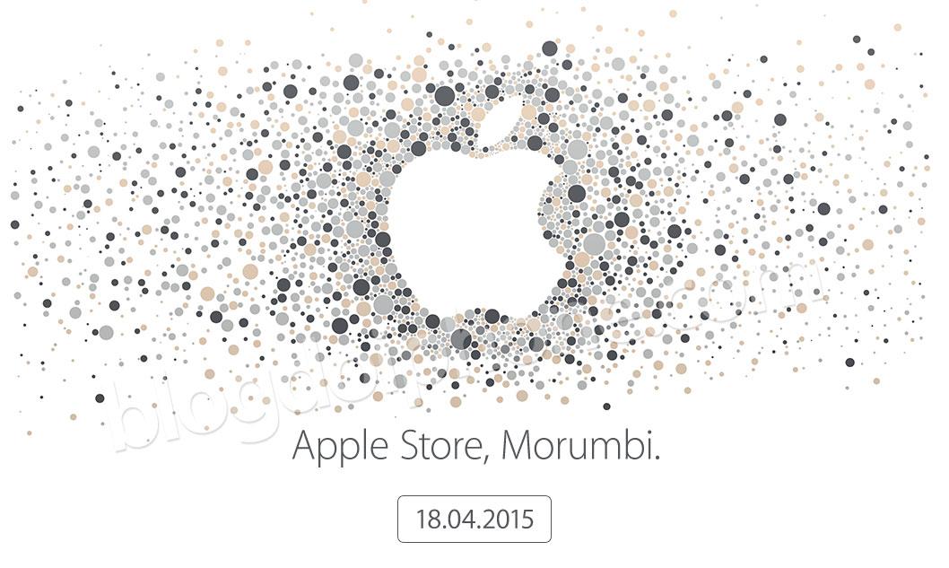 Convite Apple Store Morumbi