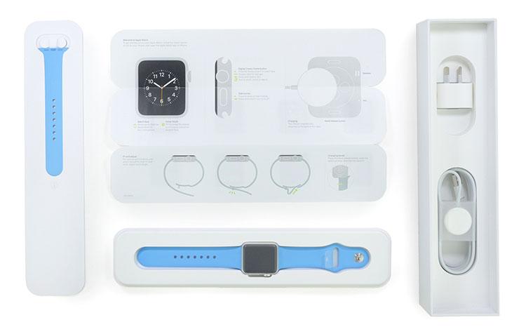 Embalagem Apple Watch
