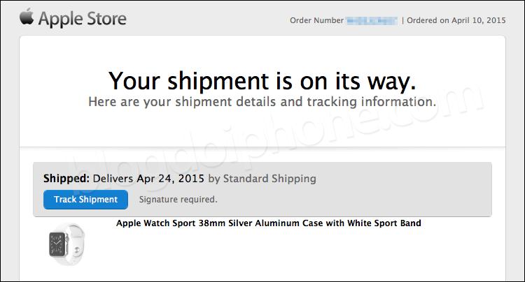 Photo of Apple começa a notificar envios do Apple Watch para quem reservou