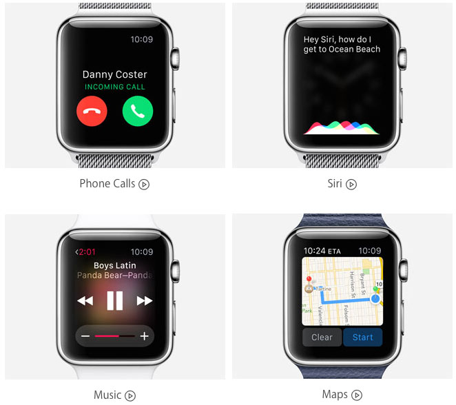 Photo of Apple atualiza sua página com novos vídeos de demonstração do Watch