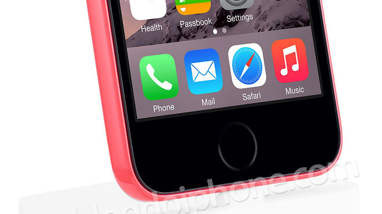 5c com Touch ID