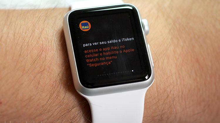 Itaú Apple Watch