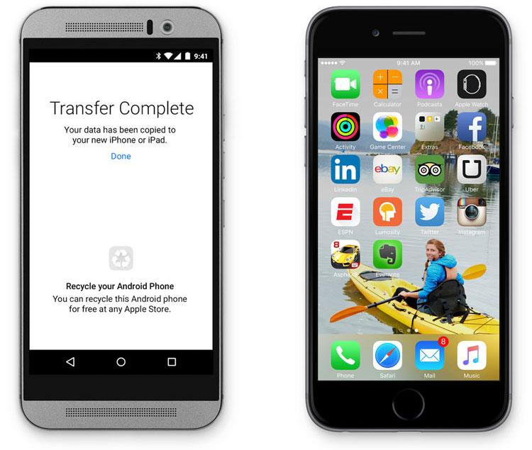 Apple pretende lançar aplicativo para ajudar usuários de Android a mudarem para o iPhone