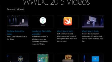 WWDC videos