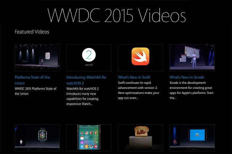 Photo of Apple disponibiliza os vídeos de todas as palestras da WWDC 2015