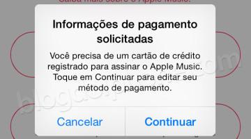 Cartão Apple Music