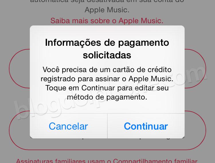 Photo of É preciso ter um cartão de crédito internacional para poder usar o Apple Music, mesmo de graça