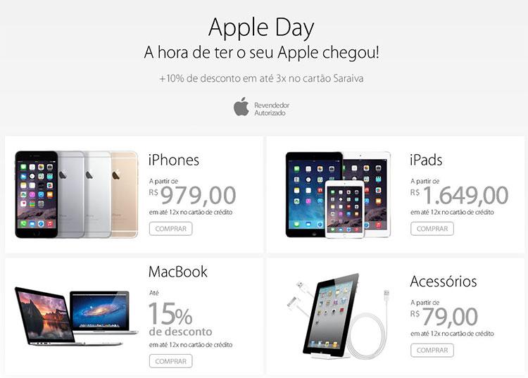 Photo of Site faz dia de ofertas de produtos Apple [encerrado]