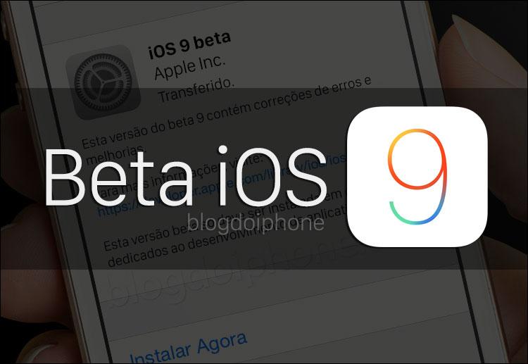 Terceiro beta do iOS 9 traz álbuns para screenshots e outras novidades