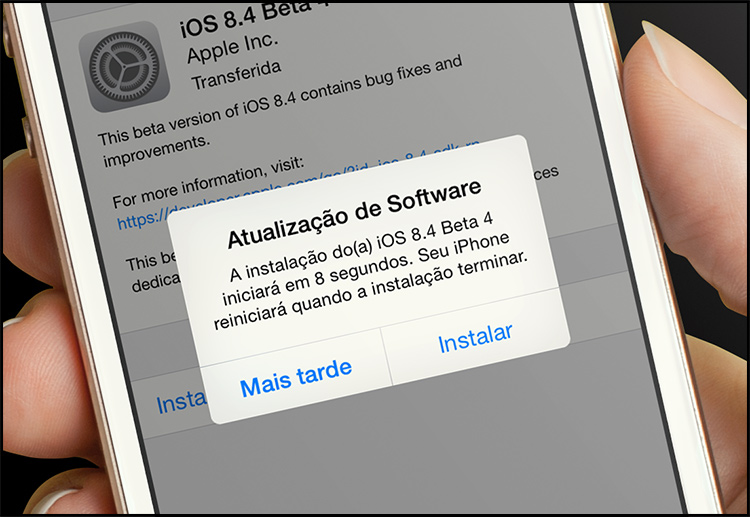 Photo of Apple libera quarto beta do iOS 8.4, compatível com o Apple Music