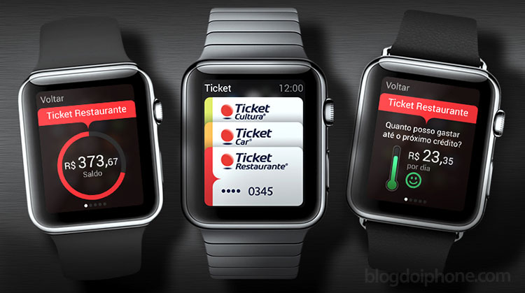 ticket Apple Watch