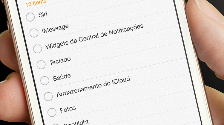 Wishlist iOS 9