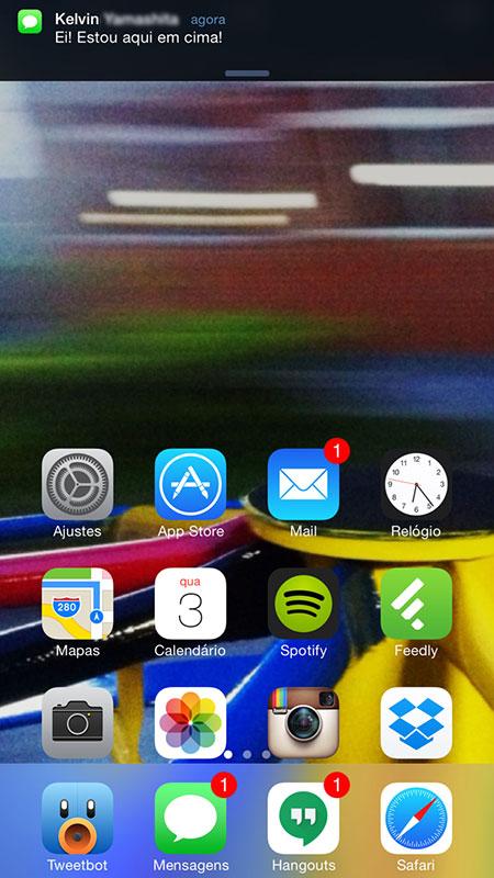 Wishlist iOS 9: Notificação