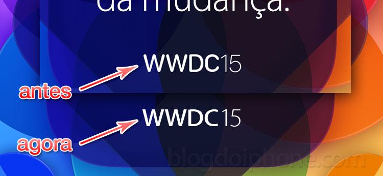 WWDC 2015 fonte