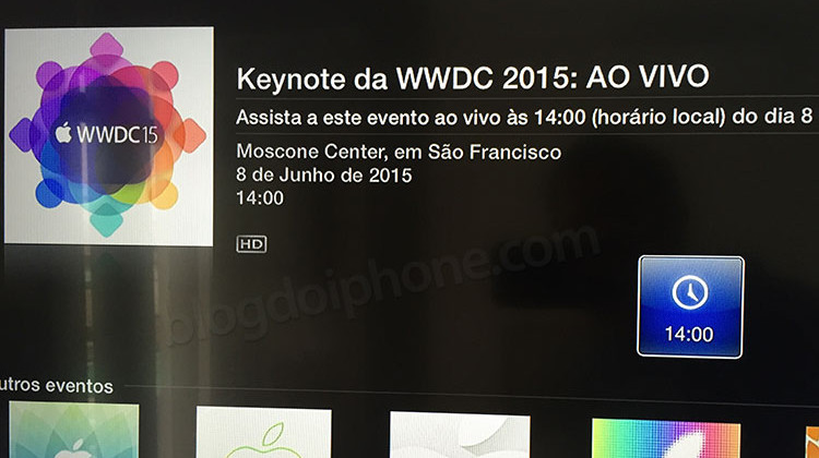 Video WWDC Apple TV