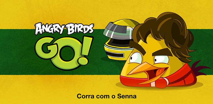 Photo of Angry Birds Go homenageia o brasileiro Ayrton Senna em sua última atualização