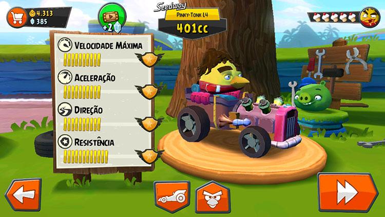 Angry Birds Senna