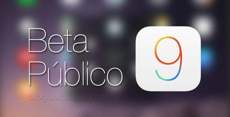 Beta Público iOS 9