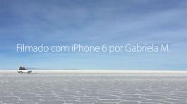 Filmado com o iPhone 6