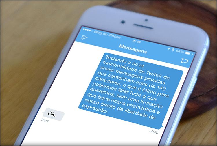 Photo of Twitter passa a permitir mensagens diretas com mais de 140 caracteres