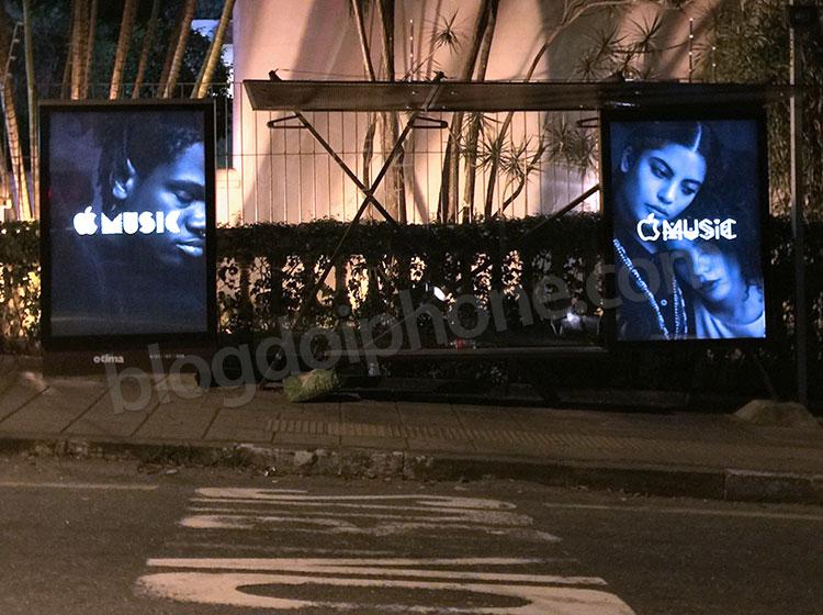 Photo of Publicidade do Apple Music começa a aparecer nas ruas de algumas cidades brasileiras