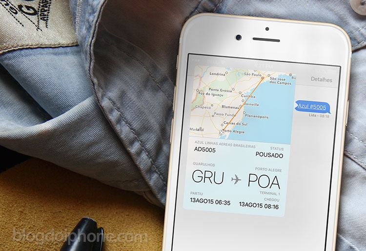 Photo of iOS 9 trará nativamente informações sobre voos
