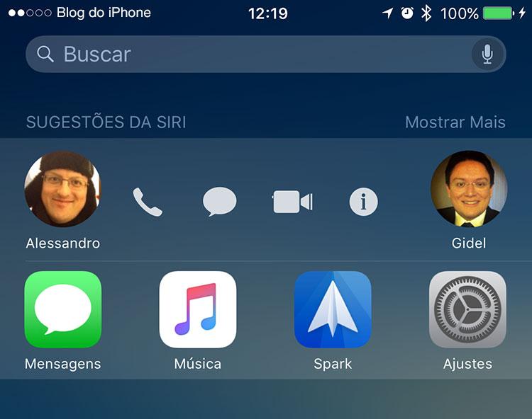 iOS 9 Busca