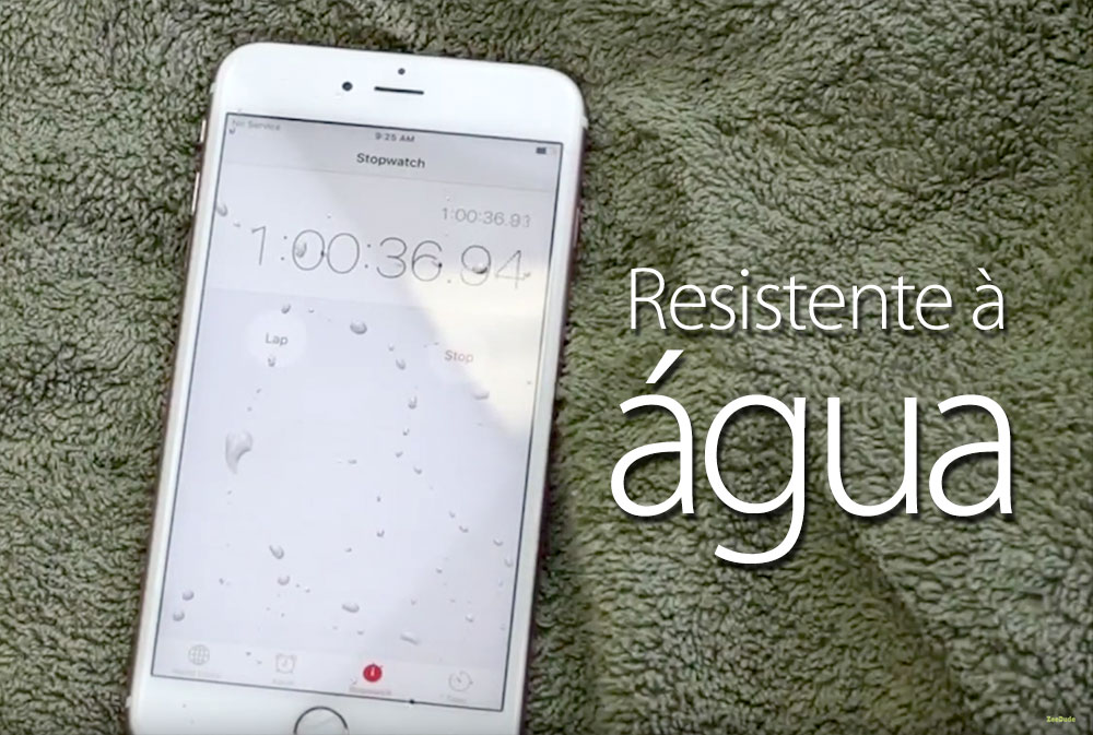 Photo of O novo iPhone 6s parece ser extremamente resistente à água