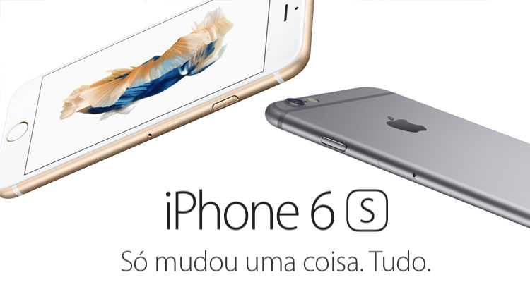 Apple revela novos iPhones 6s e iPhone 6s Plus
