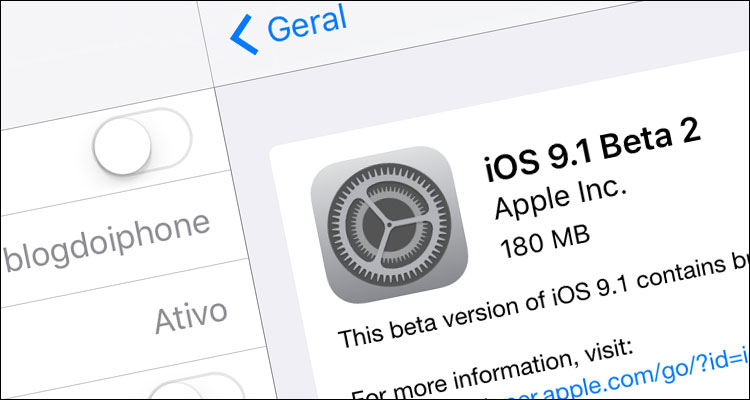 Photo of Apple libera segundo beta do iOS 9.1 para desenvolvedores